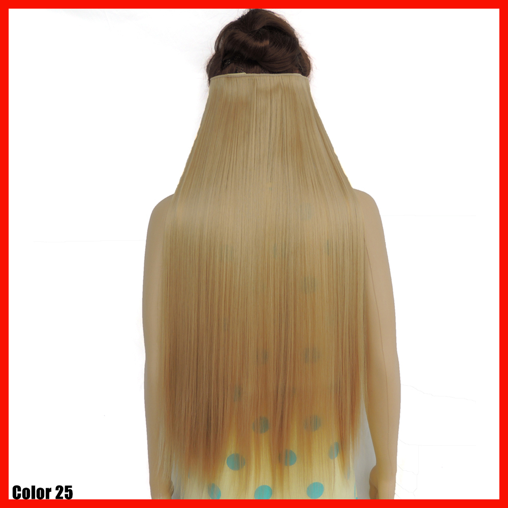 Noble gold hair extensions synthetic 5 clip in extension piece noble gold hair extensions synthetic 5 clip in extension piece straight 28 inch long white girl golden blonde hairpiece color 25 on aliexpress alibaba pmusecretfo Images