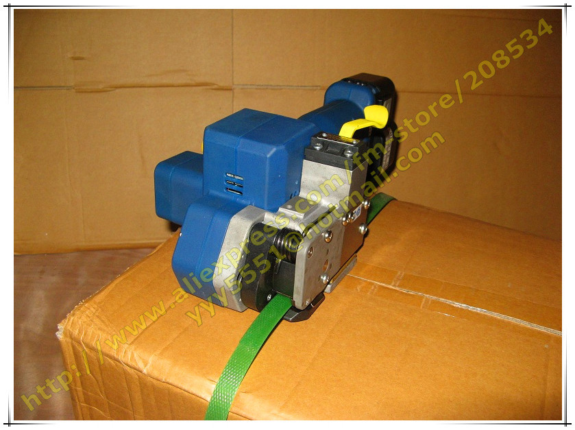 Z323 Electric &Portable Plastic&PP&PET Strapping Tool,Battery Powered Plastic Carton Box Strapper Packing Machine