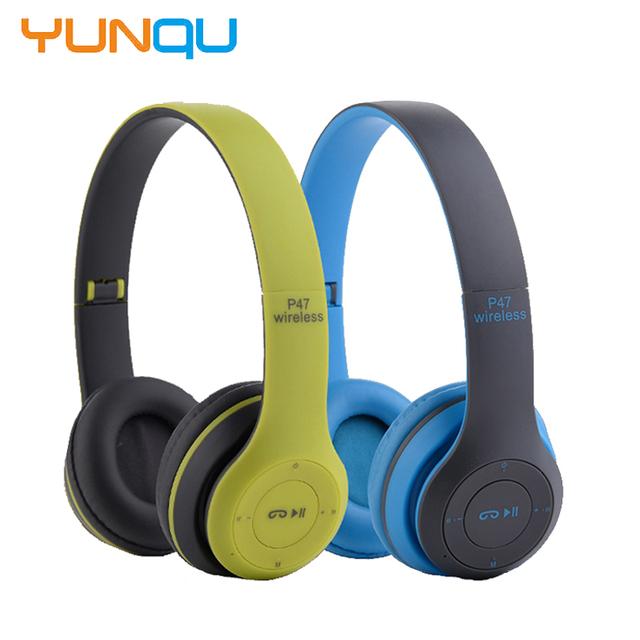 Novo Headband Dobrável fone de ouvido Estéreo Bluetooth Fones De Ouvido Sem Fio fone de Ouvido Noise Cancelling Casque Audio Handsfree com Microfone Cartão TF FM