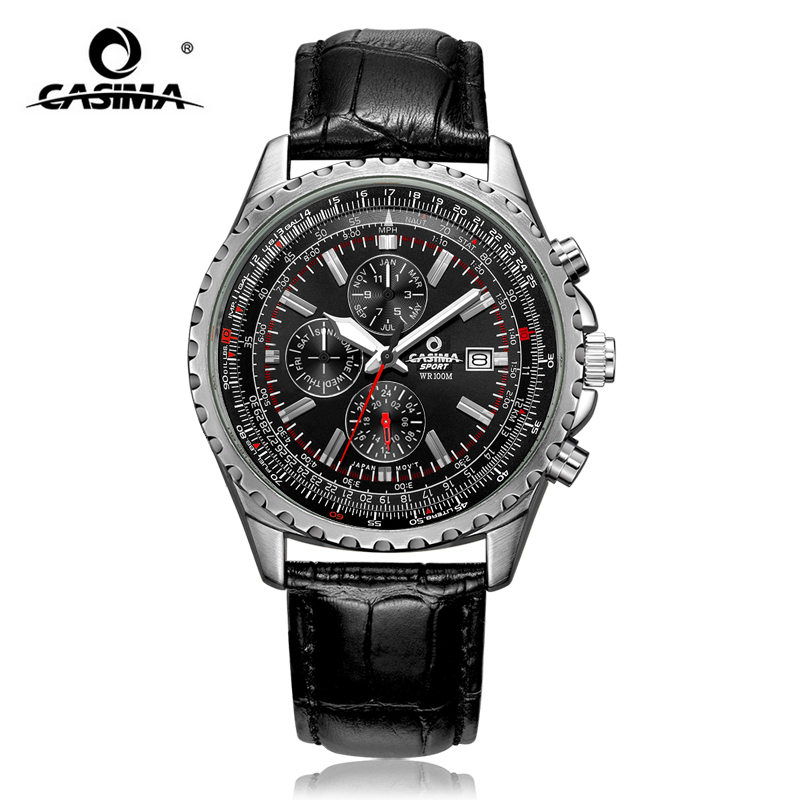 Fashion Sport Men Watch Top Brand Luxury Multifunction Casual Classic Male Clock Business Quartz-watch Relogio Masculino mens watch top luxury brand fashion hollow clock male casual sport wristwatch men pirate skull style quartz watch reloj homber