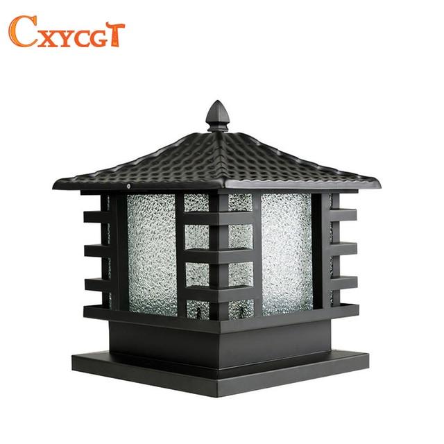 Outdoor Black Copper Porch Lamp wall lamp gate lamp Light fixture ...