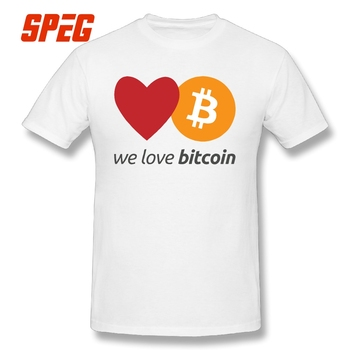 T-Shirt We Love Bitcoin