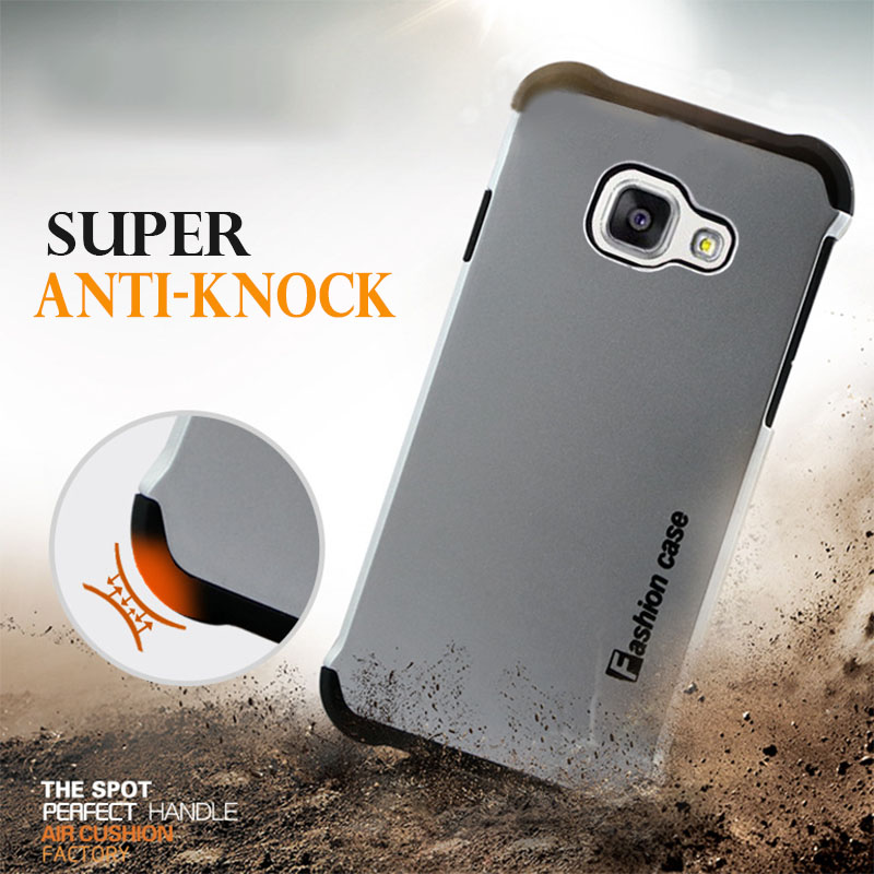 Coque Luxury Silicone Plastic Hard Armor Case For Samsung Galaxy A3 2016 A310 A5 2016 A510 a510f Shockproof Silicon Cover