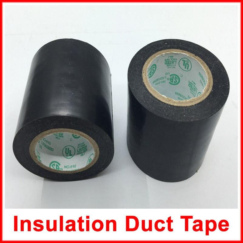 Largeur 4.5 Cm 15 M/Roll Électrique Chauffage Film Accessoire imperméable à L'eau Conduit Bande 1 Rouleau PVC Isolation Ruban Adhésif
