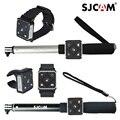 Original Pulso Wearable Pulseira Relógio de Pulso titular Monopé Controle Remoto bateria para Sjcam M20 Sj6 Lenda Sj7 Estrela Câmera Esporte