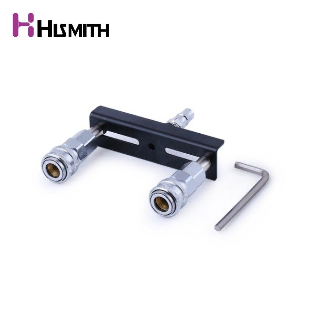 Double Quick Connector Dildos Holder Hismith Machine Device Attachements Metal Sex Machine accessory
