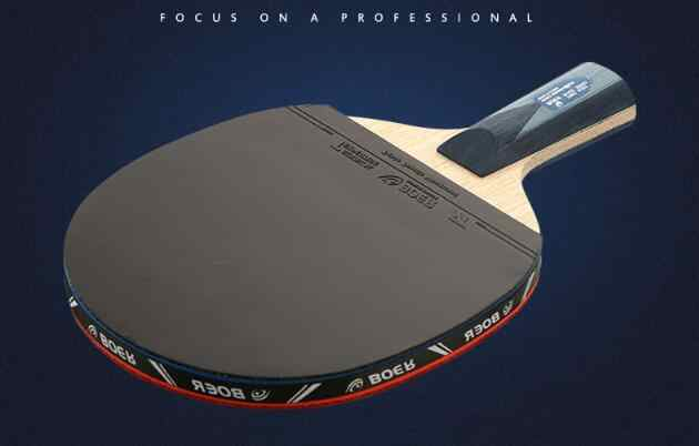 Brand Quality Table tennis racket Ddouble face Pimples-in blue rubber Ping Pong Racket tenis de mesa