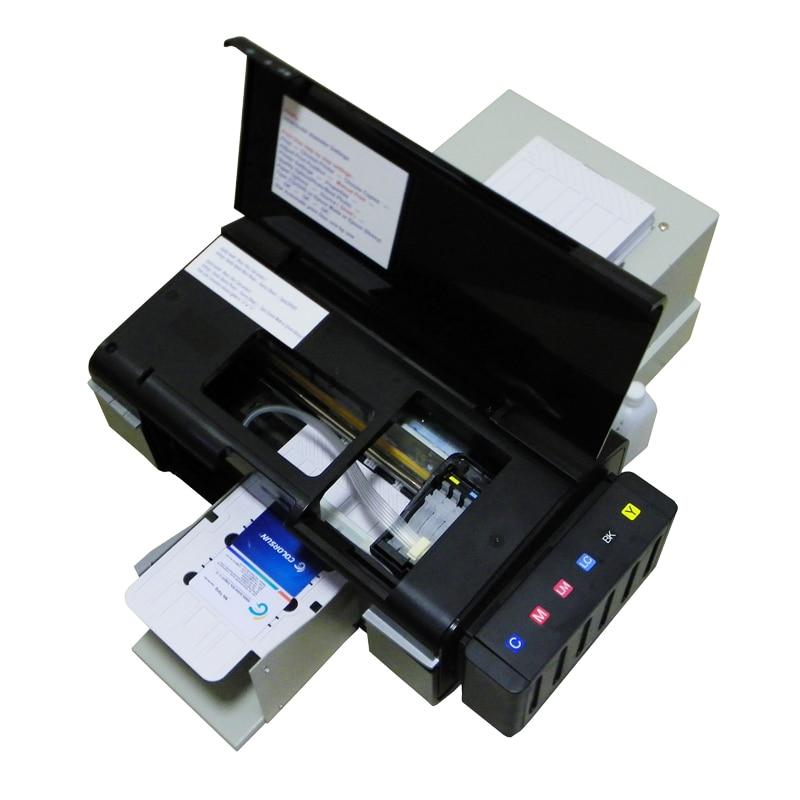 Automatic CD Printer DVD Disc Printing Machine PVC Card Printers for Epson L800 Impresora de CD Maquina de impresion de DVD non woven fabrics hanging type 18 cd dvd card holder beige