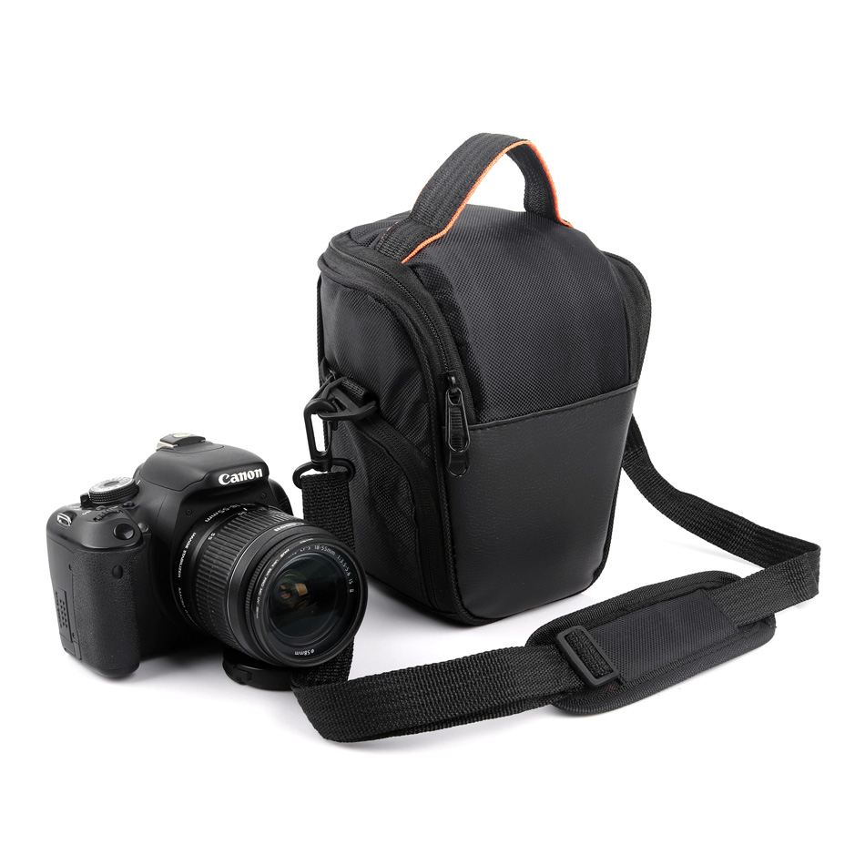 High Capacity Dslr Camera Photo Bag For Nikon D5300 D3400 D750 D3300 P900 J5 B700 D7500 D7000 Nikon Camera Case Lens Bag Bright In Colour Digital Gear Bags