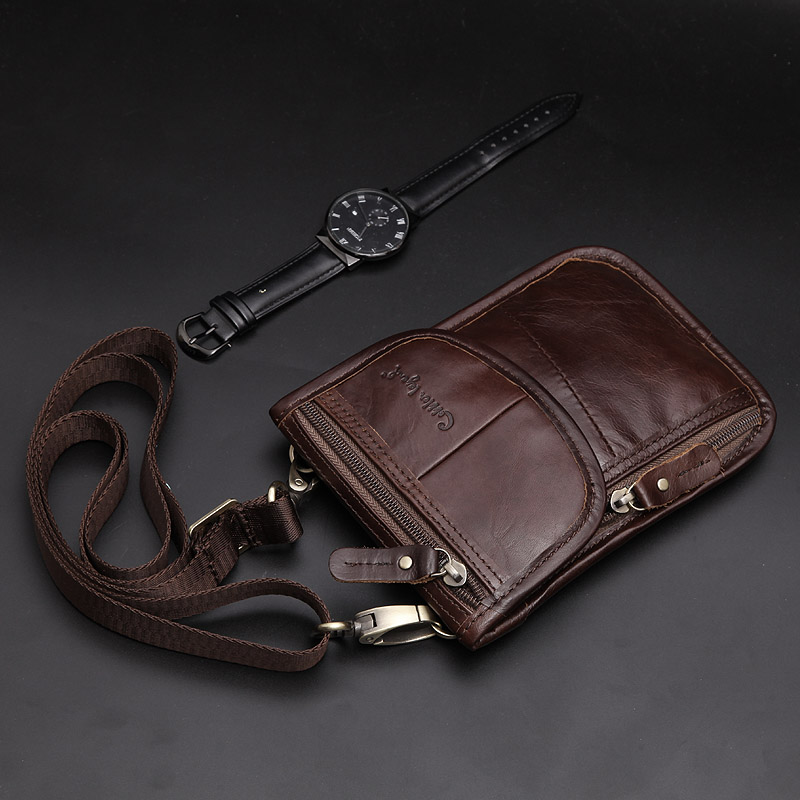 Cobbler Legend 2019 New Retro Trend Men Waist Packs For Mobile Phone Money Case For Male Travel Belly Fanny Pack Bag Hot Sale