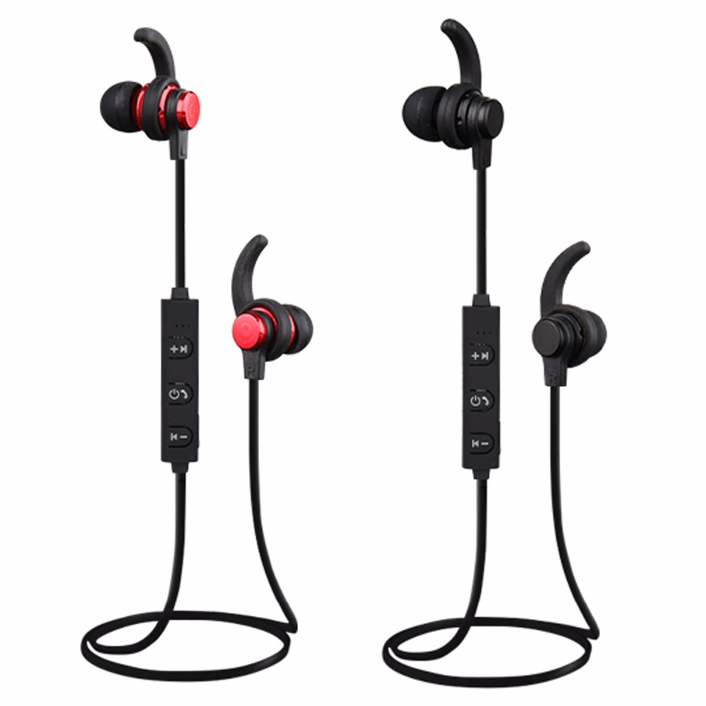 SOONHUA Wireless Magnetic Earphone Bluetooth 4.2 Sport Sweatproof Earbuds Headphone Handfree HiFi Stereo Headset For iPhone