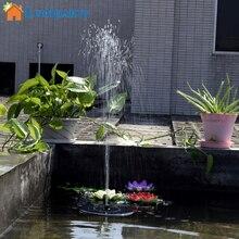 Lumiparty Горячие Продажа 7 В Водный Насос Солнечные Панели Садовые Растения Воды Мощность Фонтан Бассейн