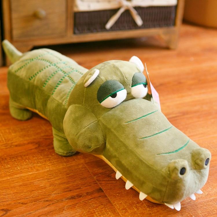 candice guo! super cute plush toy cartoon big eyes crocodile lizard stuffed doll home decoration birthday gift 1pc super cute plush toy dog doll as a christmas gift for children s home decoration 20