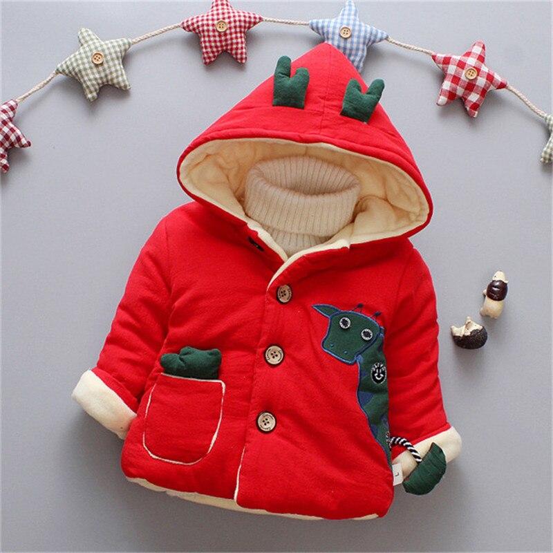 Manteau Hiver bébé garçons manteaux Renne Noël