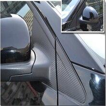 Аксессуары для экстерьера автомобиля из углеродного волокна, декоративные наклейки на окна для Chevrolet Cruze 2009-, 12 шт. в наборе
