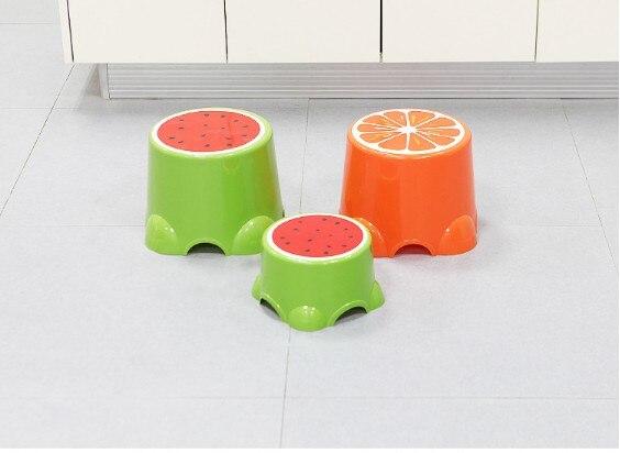 Hocker Kreative Kinder Stuhl Glückliche Kindheit Schöne Frucht Form Stuhl Kompakt Halten Vier-farbe Kinder Obst Förmigen Hocker. Supplement Die Vitalenergie Und NäHren Yin