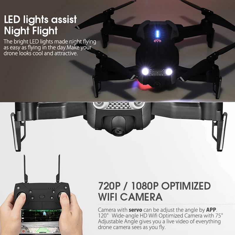 Eachine E511S GPS Dynamic Follow WIFI FPV Video With 5G 1080P Camera RC Drone Quadcopter Helicopter VS XS816 SG106 F11 S167 Dro 5