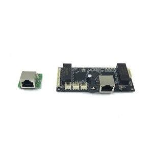 Image 2 - อุตสาหกรรมโมดูลสวิทช์ Ethernet 10/100/1000 mbps 4/5/6 พอร์ต PCBA คณะกรรมการ OEM Auto พอร์ตการตรวจจับบอร์ด PCBA เมนบอร์ด OEM