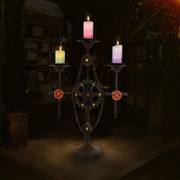 European style retro iron candlestick Christmas Wedding supplies floor style candle utensils home furnishings