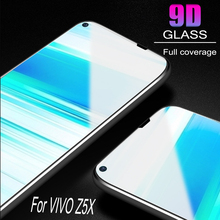 Glass Protective Film 9D Full Cover Tempered Glass For Vivo Z5X  Screen Protector   Anti Blue Ray  Glass film