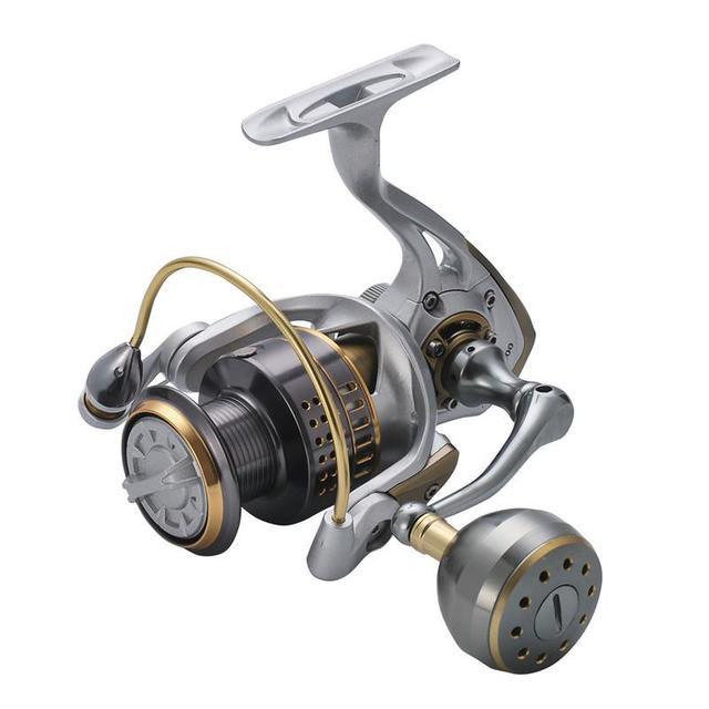 WOEN ASTON6000 جميع المعادن الغزل عجلة 18 كيلوجرام الفرامل قوة البحر الصيد صخرة الصيد عجلة