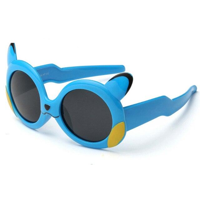 Anak Plastik Bingkai Polarized Sunglasses Anak Gadis Kartun Pikachu Shades  Kacamata Oculos De Sol Kacamata Matahari ac1aecac78