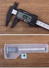 hifiboy Practical Precision Hot 150mm Vernier Calipers Electronic Digital LCD Plastic Caliper Micrometer