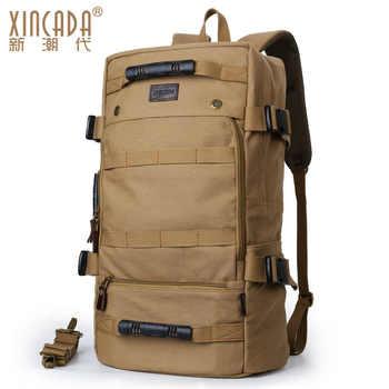 M036 Stylish Travel Large Capacity Backpack Male Messenger Shoulder Bag Computer Backpacking Men Multifunctional Versatile Bag - DISCOUNT ITEM  30 OFF Luggage & Bags