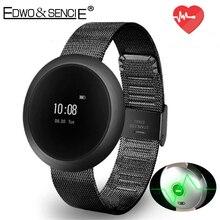 EDWO X9 Мини Сенсорный Экран SmartBand Часы Bluetooth Браслет Шагомер Сердечного ритма Фитнес-Трекер Умный Браслет Для iOS Android