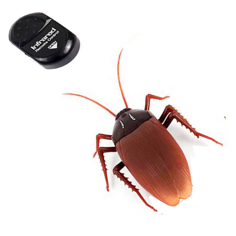 Novelty Emulational Remote Control cockroach Animal Toy Funny toy For Fool s Day Halloween Prank and Christmas
