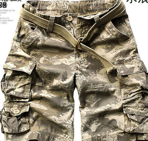 fashion casual cargo shorts men beach multi-pocket loose tooling mens plus size 28 42 - Yiwu Fashion Commodity Supermarket Retail Dropship store