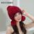 Mulher trecho grosso mink Skullies & Gorros caps feminino inverno quente proteção de Orelha chapéus de pele senhora de pele Anti-vento de pele cap