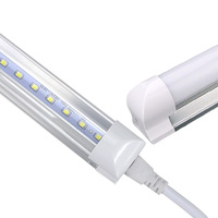 LED Bulbs Tubes T8 600mm 10W 2 Feet Led Integrated Tube Light 2FT AC85 265V G13