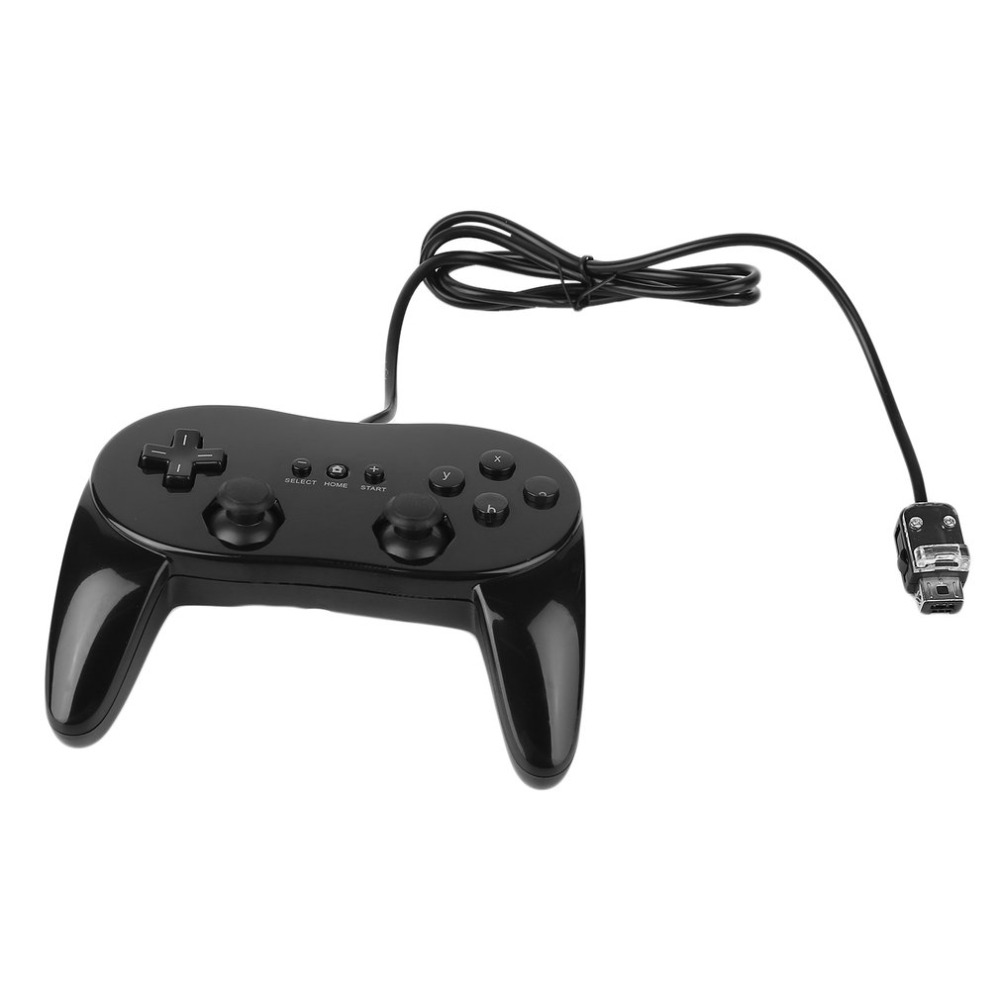 Classic Wired Game Controller Gaming Remote Pro Gamepad Shock Joypad Joystick For Nintendo Wii Second-generation Dropshipping