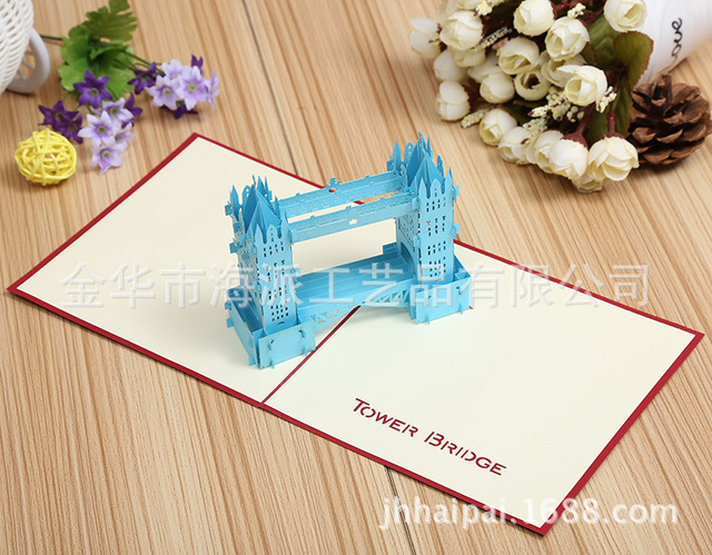 Factory direct sales three dimensional creative 3d greeting card factory direct sales three dimensional creative 3d greeting card attractions business card can be customized colourmoves