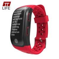 TTLIFE GPS Tracker S908 Smart Watch Pedometer Waterproof Heart Rate Monitor Touch Watch Men Women Smart
