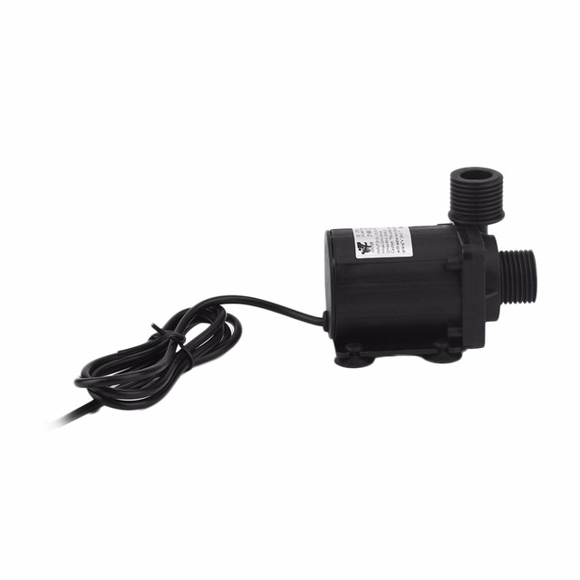 1pc New High Quality DC 12V 3.8M Magnetic Electric Centrifugal Water Pump