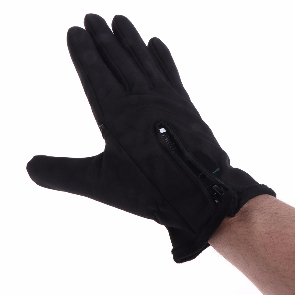 Cycling Gloves Fleece Fishing Outdoor Men Winter Thermal Windproof Touch Screen