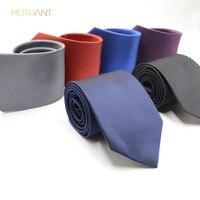 Working class professional tie fine lattice jacquard tie fashion trend men's solid color business dress tie mens tie necktie