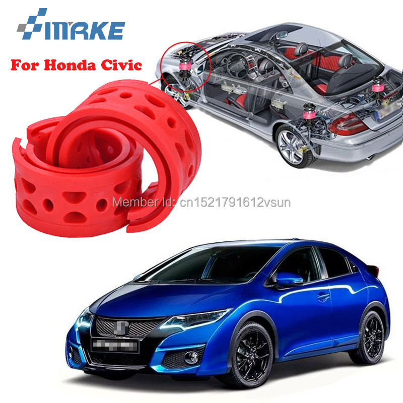 smRKE For Honda Civic High quality Front /Rear Car Auto Shock Absorber Spring Bumper Power Cushion Buffer|power cushion buffer|cushion buffer|spring bumper - title=