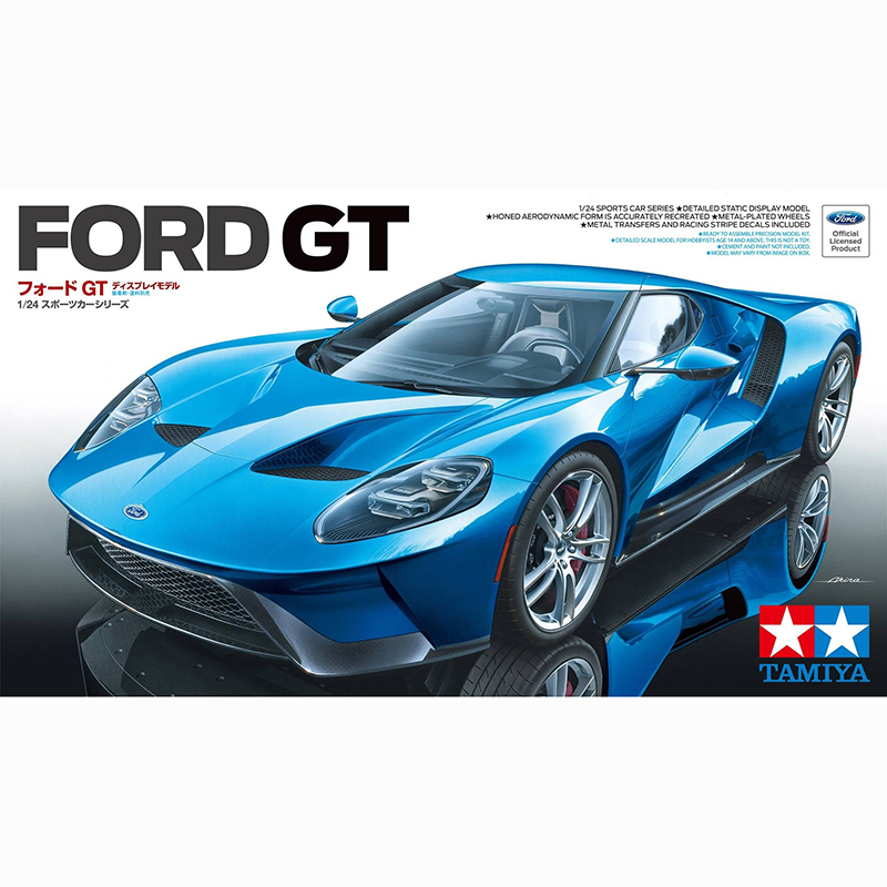 1/24 TAMIYA 24346 FORD GT(Tamiya March new product) model hobby-in Model Building Kits from Toys & Hobbies    1