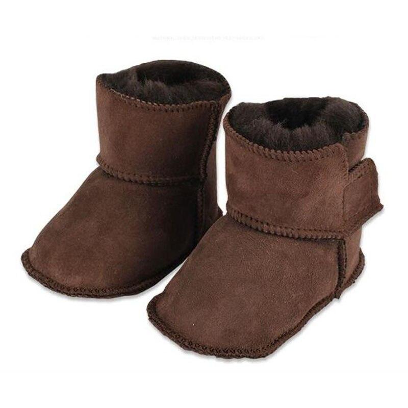 Joyhopy зимние детские Обувь для малышей младенцев теплая обувь из искусственного меха для маленьких девочек пинетки кожаные мальчик детские ...
