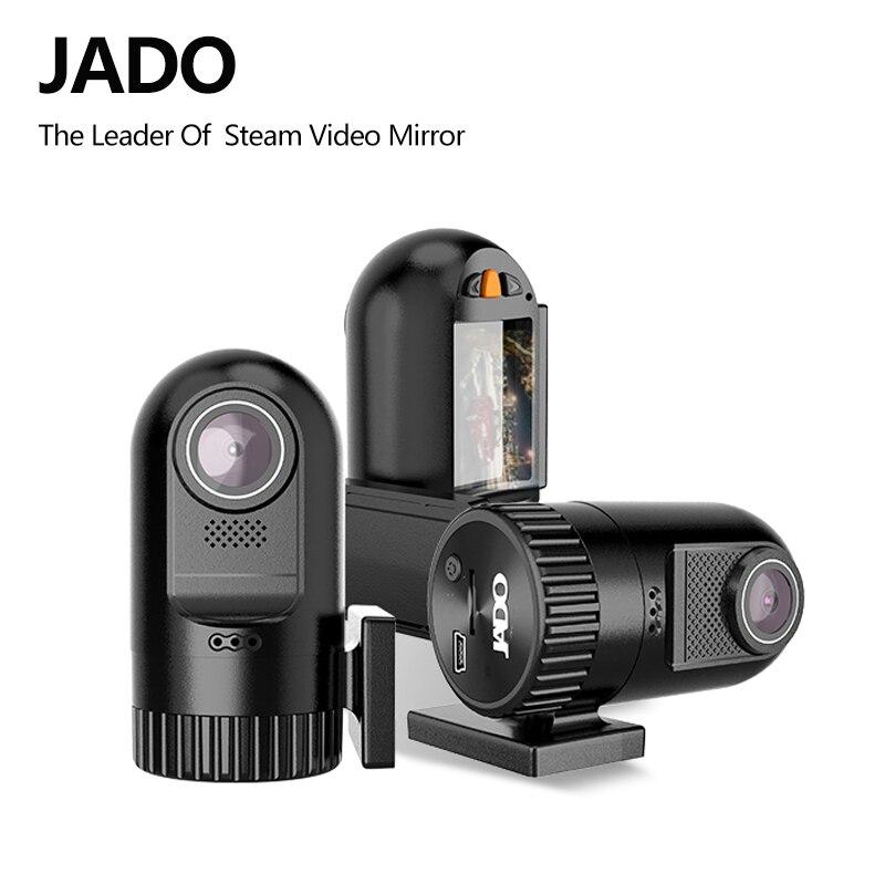 JADO D169S-AD Car Dvr 1.5 IPS Screen Full HD 1440P Mini Car Dvrs Video Recorder 140 degree Registrar Dash cam Support 128G цена