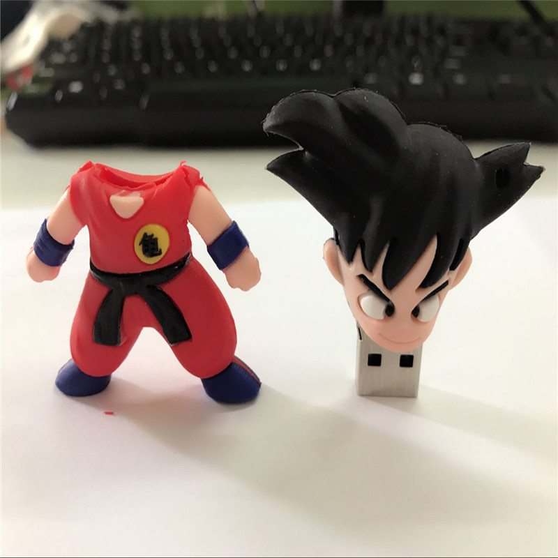 100% real capacity usb Wukong Bulk usb flash drive Dragon Ball gift 32gb 8gb 16gb usb flash drive prawn pen drive memory stick