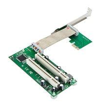 PCI express x1 до 2 PCI Адаптер Конвертер Карты PCIE Стояка Кабель