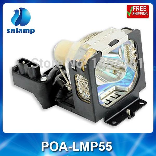 Original Projector lamp bulb POA-LMP55 610-309-2706 for PLC-XU55 PLC-XT15KS PLC-XT15KU PLC-XU58 PLC-XU47 PLC-XU50 plc srt2 od04