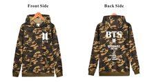 BTS Camouflage Hoodie
