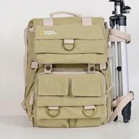 National Geographic NG5160 Earth Explorer NG5160 Canvas DSLR Camera Bag Backpack/ Case/ Laptop Bag for C@non Ni@on S@ny