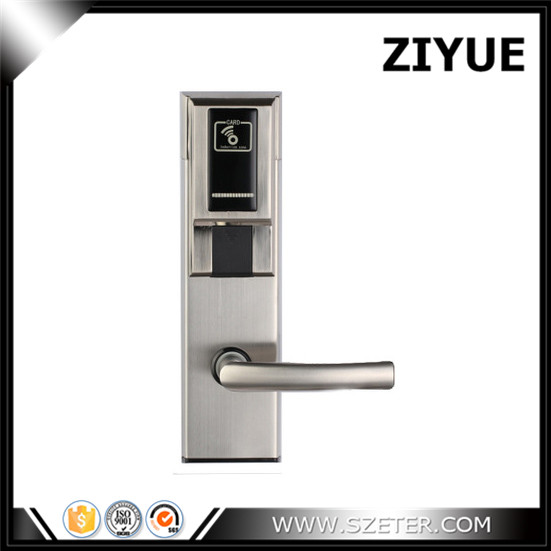 High Quality Zinc Alloy Electronic RFID IC Cardmotel Hotel Lock for hotel inn ET638RF digital electric best rfid hotel electronic door lock for flat apartment