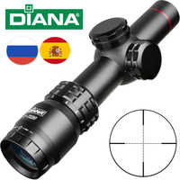 DIANA 2-7x20 Riflescope Mil Dot Scope Reticle Sight Rifle Scope Hunting Scopes Outdoor Tactical Rifle Scope Airsoft Air Guns
